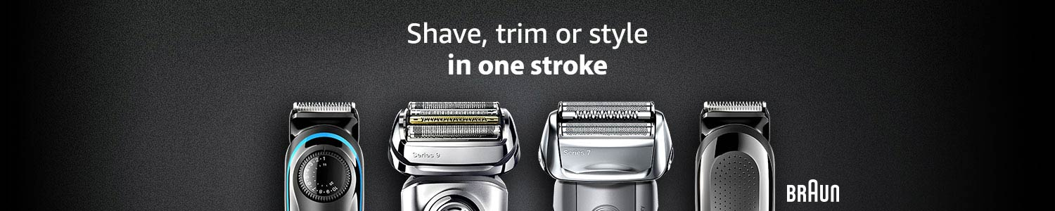 Shave trim or style in one stroke