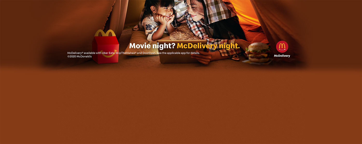 Movie Night with McDelivery