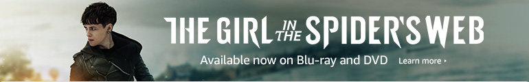 The Girl in the Spider's Web Available Now