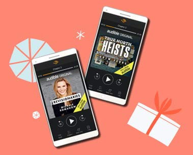 Prime Member Exclusive: 2 audiobooks + a bonus credit