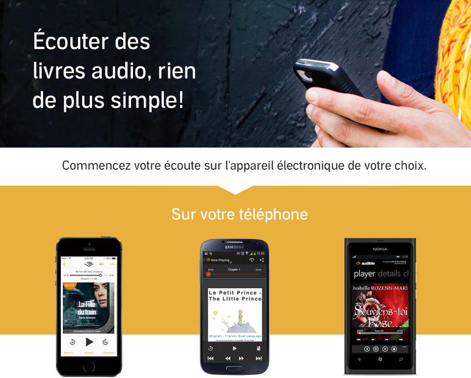 Audiobook on your smartphone