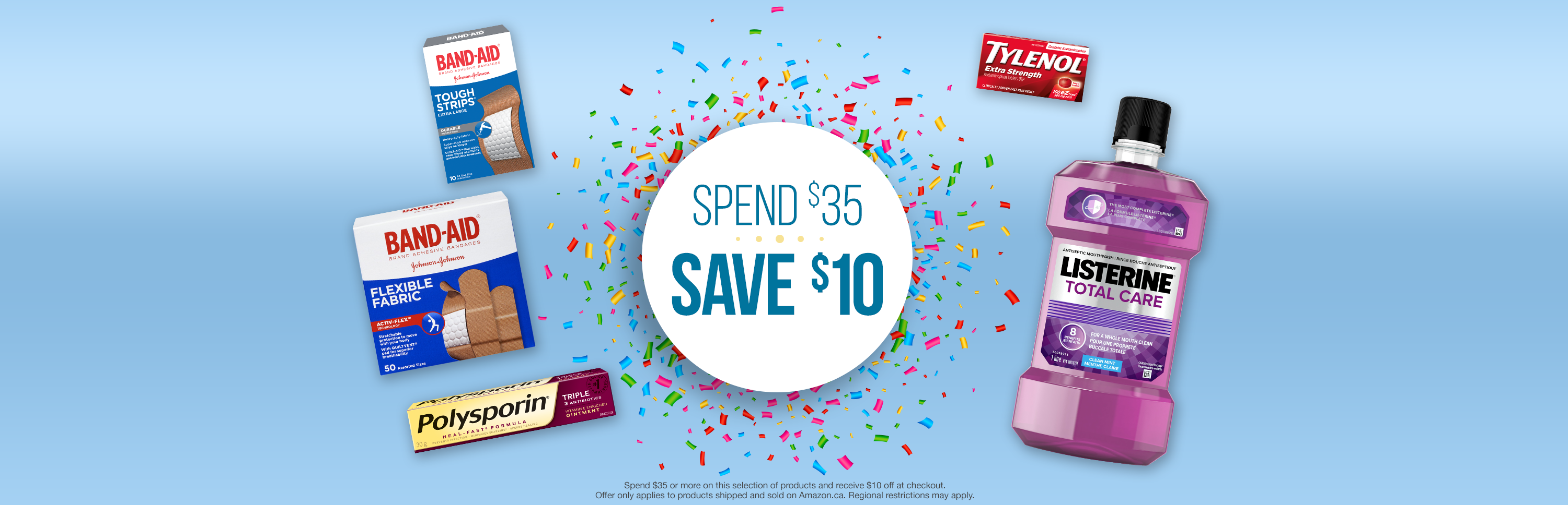 Spend $35 Save $10 with J&J