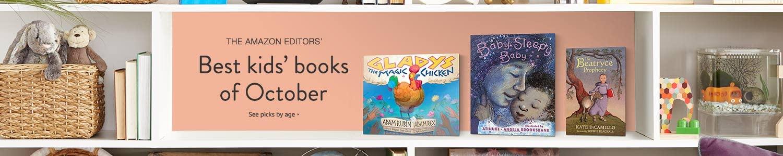 Amazon Editors' Best Books of October