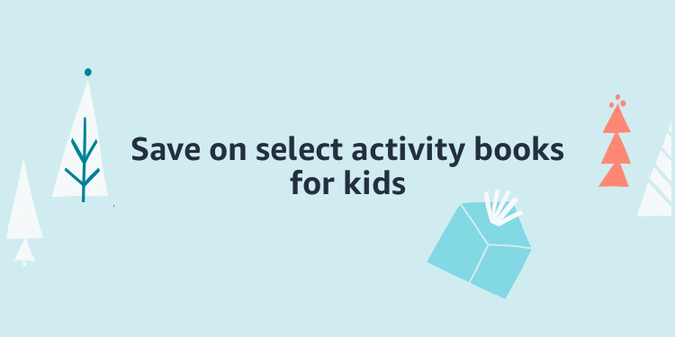Save on select activity books for kids