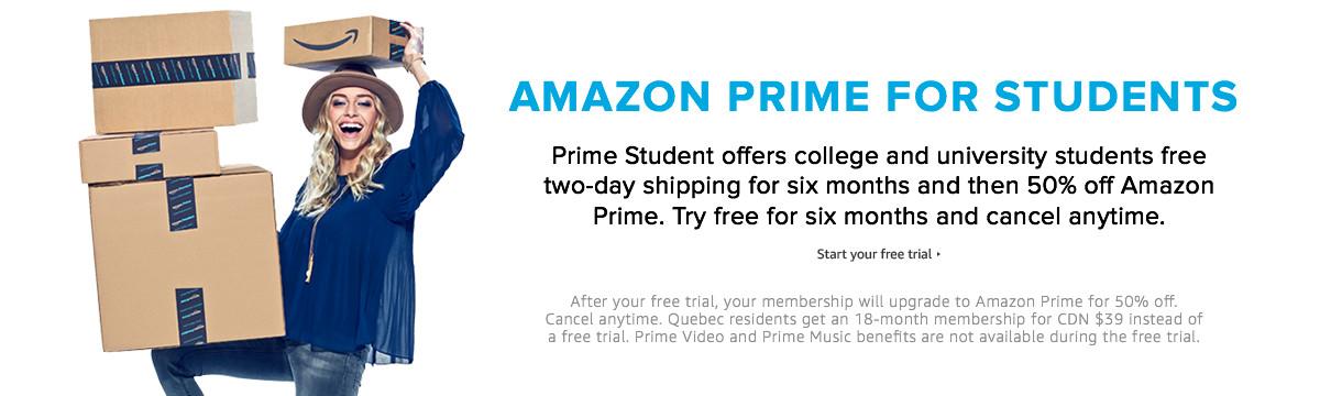 Amazon Prime Video Student