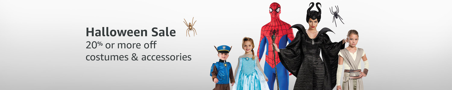 Halloween sale: 20% or more off costumes & accessories
