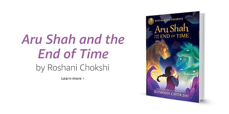 Aru Shah and the End of Time by Roshani Chokshi