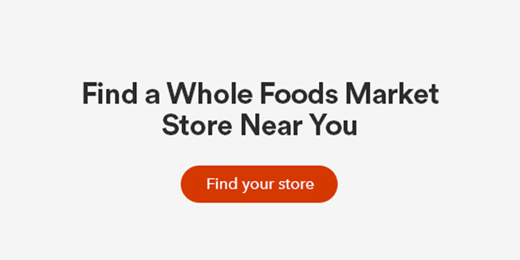Whole Foods Market Store Locator