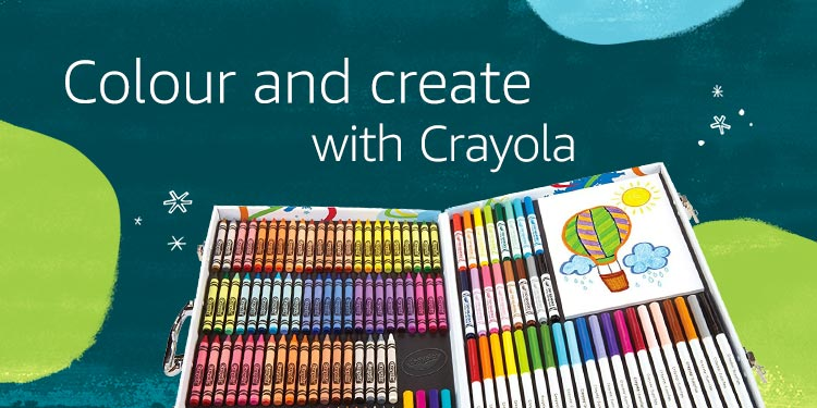 Colour and create with Crayola