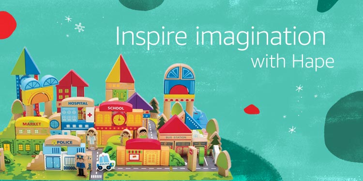 Inspire imagination with Hape