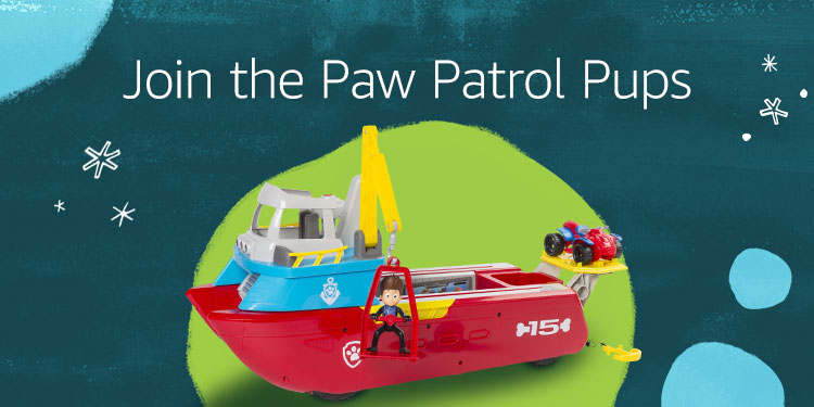Join the Paw Patrol Pups