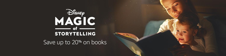 Disney Magic of Storytelling save up to 20% on books