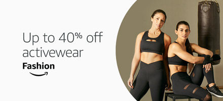Up to 40% off select activewear