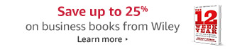 Save up to 25% on business books from Wiley