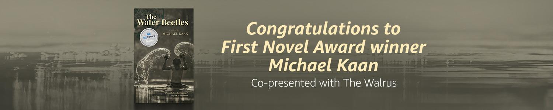 2018 First Novel Award Winner