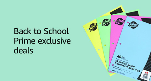 Back to School: Prime exclusive deals