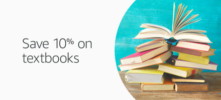 Save 10% on textbooks
