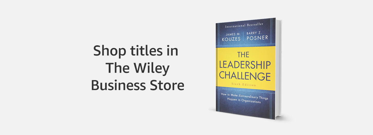 Shop titles in The Wiley Business Store