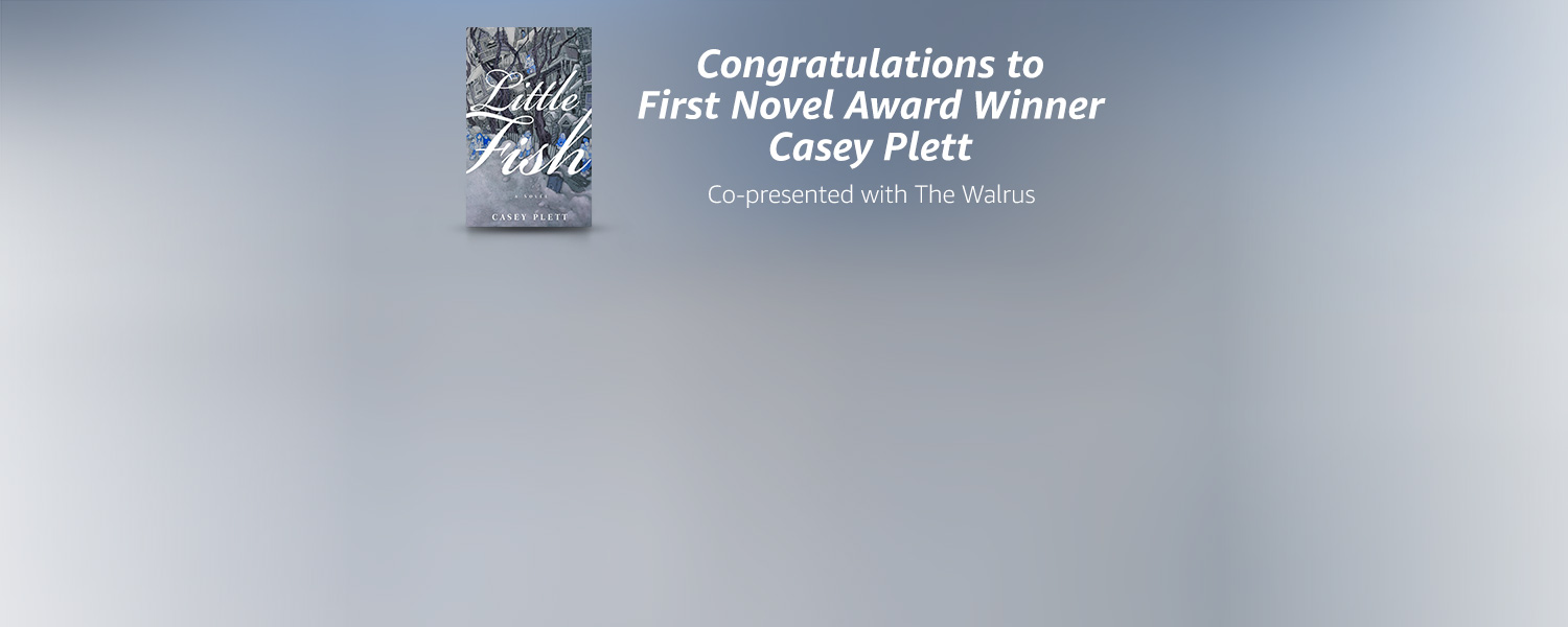 Congratulations to First Novel Award winner Casey Plett