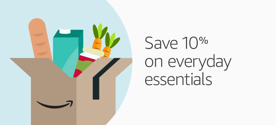 Save 10% on everyday essentials