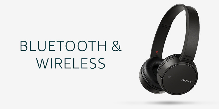 Bluetooth & Wireless Headphones