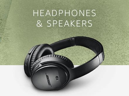 Headphones & Speakers