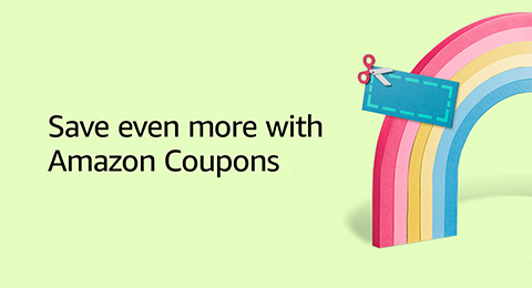 Save even more with Amazon coupons