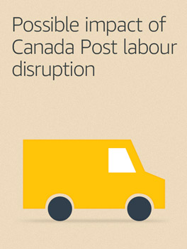 Possible impact of Canada Post labour disruption