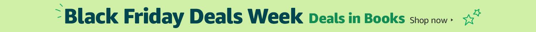 Black Friday Deals Week in Books