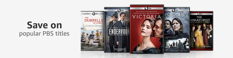Save on popular PBS titles