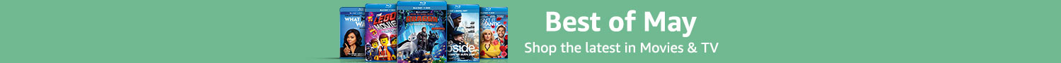 Best of May - Shop the latest in Movies & TV