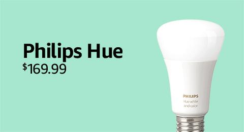 Philips Hue Starter Kit: $169.99