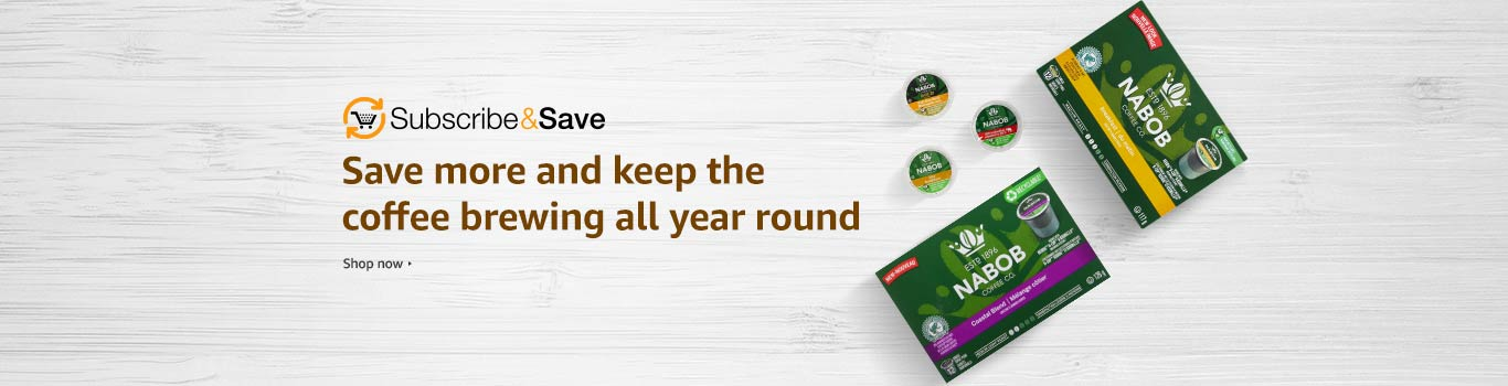 Subscribe & Save to Nabob Coffees