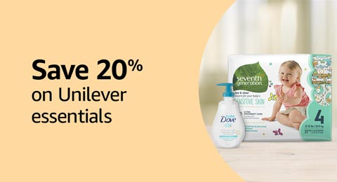 Save 20% on Unilever Essentials