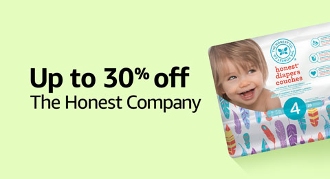 Up to 30% off The Honest Company