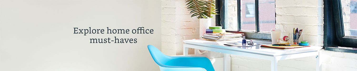 Explore home office must-haves