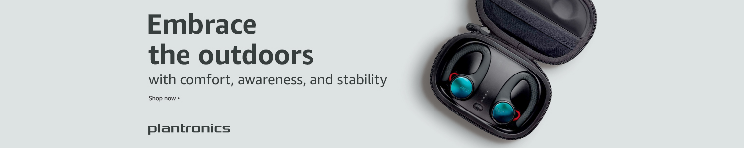 Embrace the outdoors with Plantronics