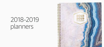2018-2019 Planners
