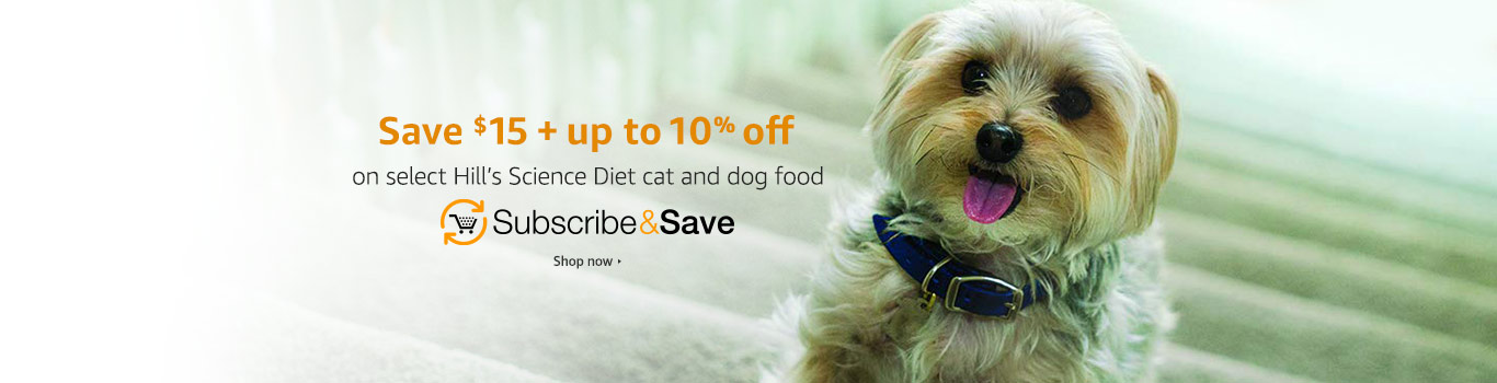 Save on Hill's Pet Food