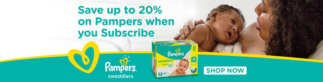 Save on Pampers Swaddlers