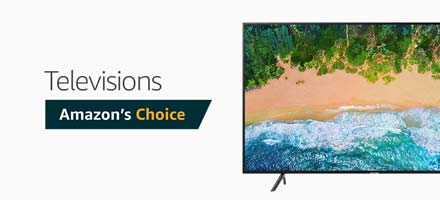 Amazon's Choice TVs