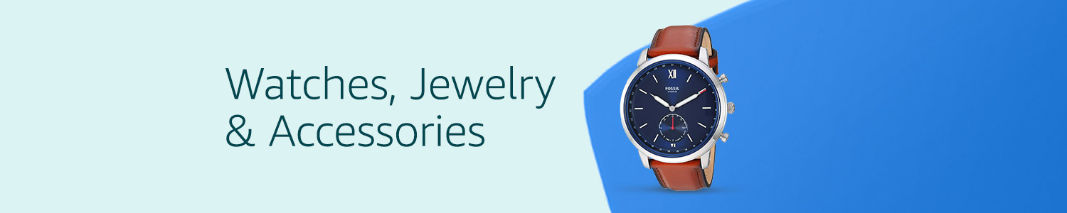 Watches, Jewelry, & Accessories