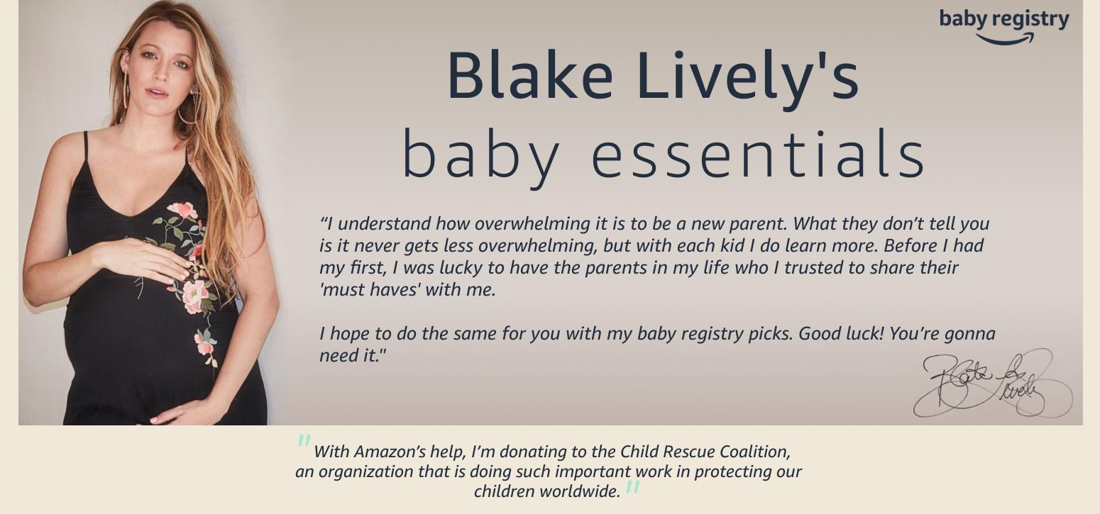 blake lively baby picks