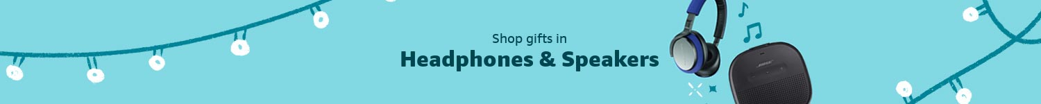 Shop gifts in Headphones & Speakers