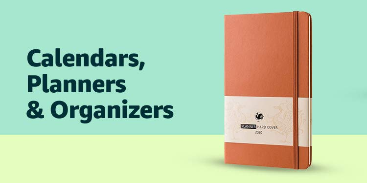 Calendars, Planners & Organizers