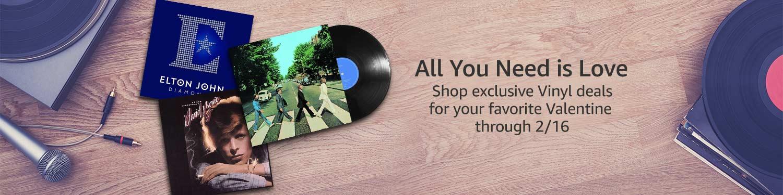 Valentine's Day Vinyl Deals