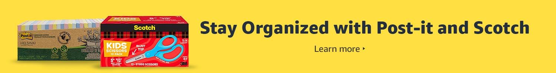Stay organized with Scotch & Post-it