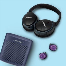 Save up to 32% on Bose headphones and speakers