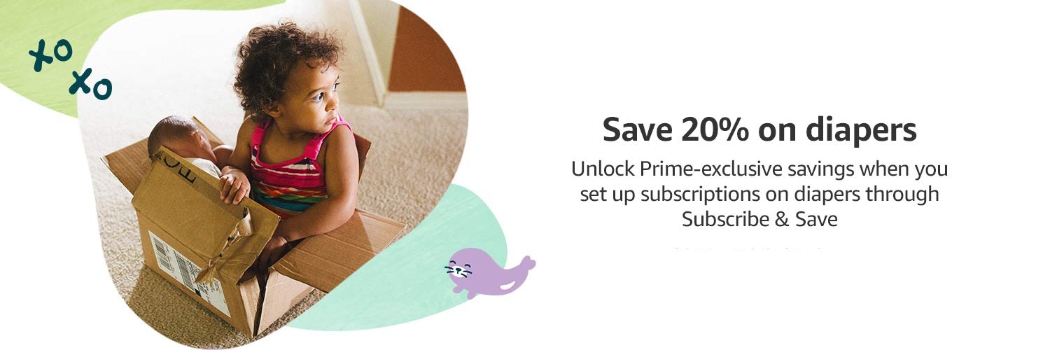 Up to 20% off diapers, baby food, & more