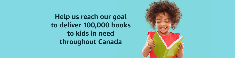Help us deliver 100,00 books